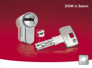 DOM IX Saturn Gelijksluitend met 2in1 systeem