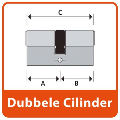 Dubbele Euro Profiel Cilinder SKG