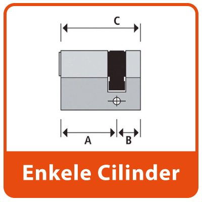 Enkele Profiel Cilinder SKG