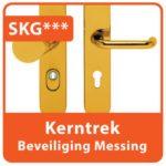 Kerntrek Beveiliging Messing SKG
