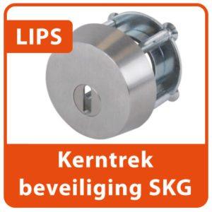 LIPS anti-kerntrekbeveiliging veiligheidsbeslag SKG Slotenmaker Den Haag