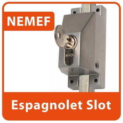 Nemef Espagnolet Slot Opbouw SKG