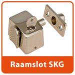 Opbouw Opleg Raamslot Vernikkeld SKG