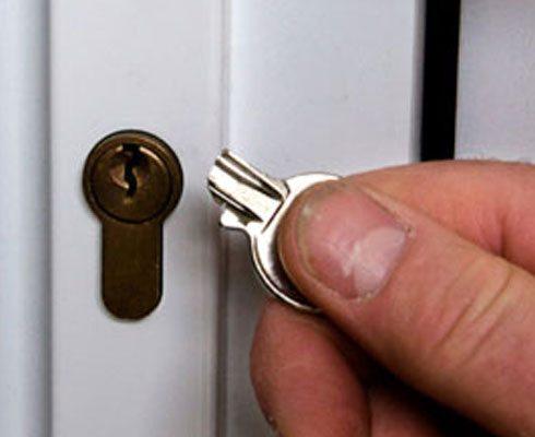 Ключ сломался в замке?