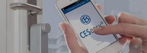 CES easy elektronische toegangscontrole deuropener SKG*** SKG3 Slotenmaker Den Haag