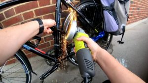 Opening Bicycle Lock | Locksmith The Hague | Slotenmaker Den Haag