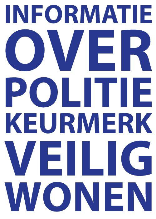 Informatie over Politiekeurmerk Veilig Wonen PKVW Slotenmaker Den Haag SDH