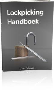Lockpicking Handboek Koen Duindam Slotenmaker Den Haag